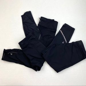 Ivivva Bundle of 3 Pants Leggings Size 12 Girls